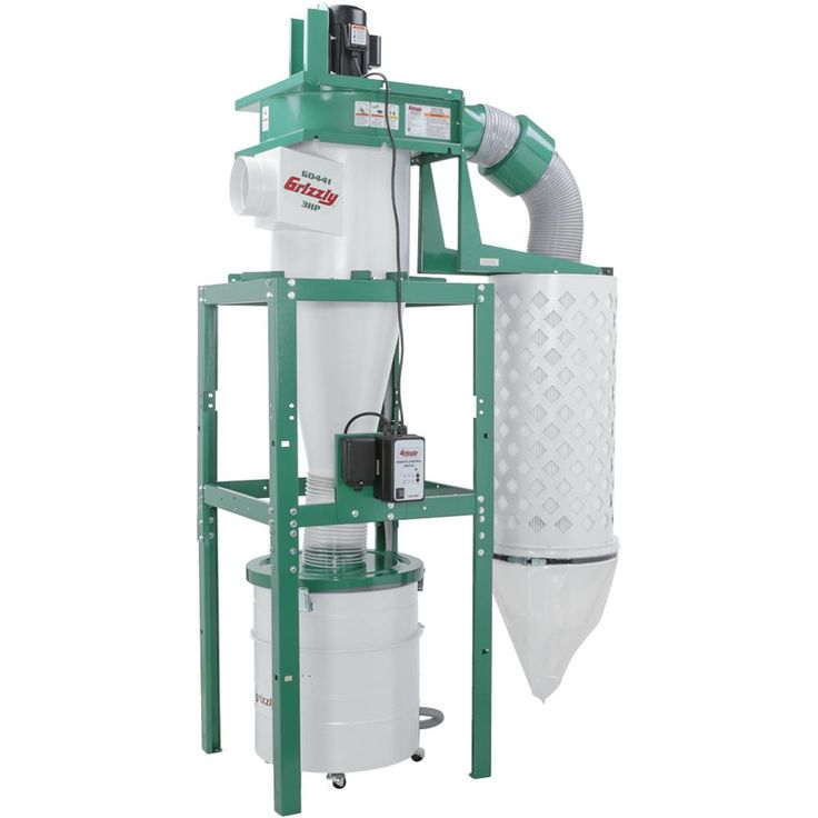 3 HP Cyclone Dust Collector | Grizzly Industrial