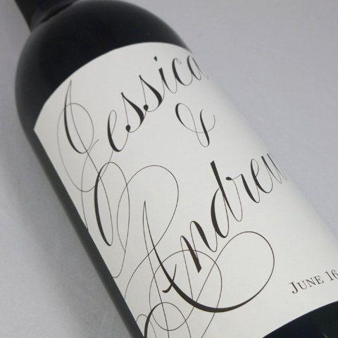 Custom Wedding Wine Labels  personalized wine by nancynikkodesign, $25.50