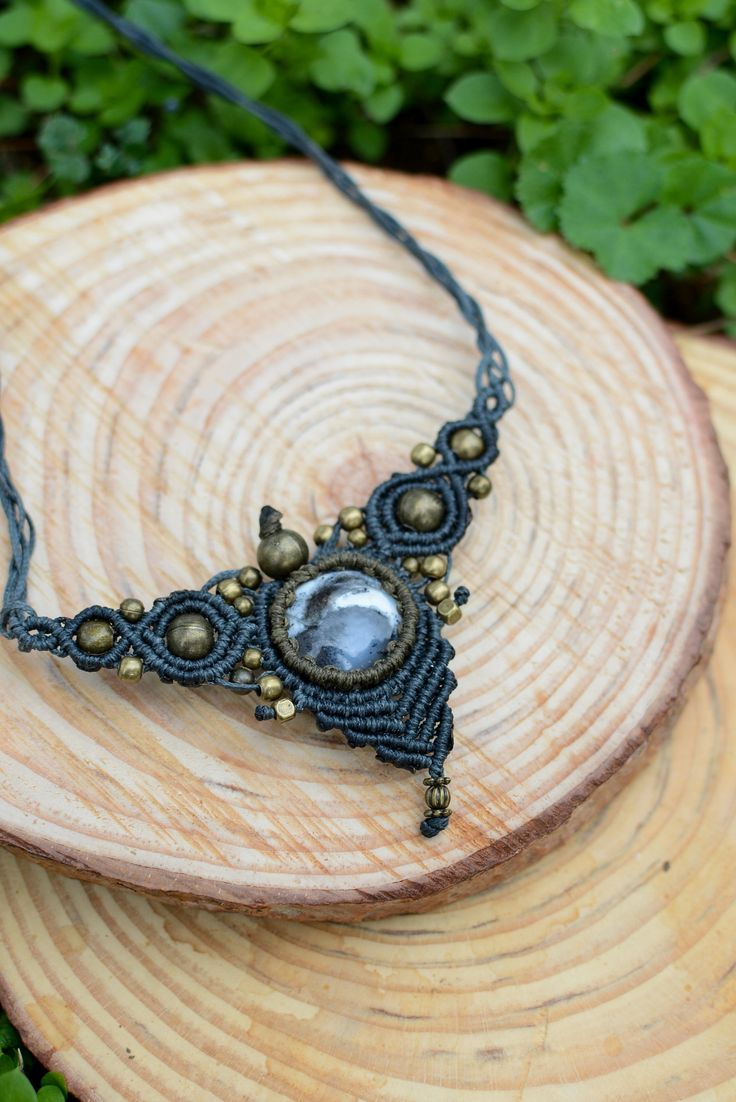 new opal dentrite necklace....find it at https://www.etsy.com/your/shops/me/social-media