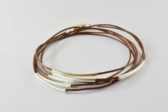 $15 leather wrap bracelet