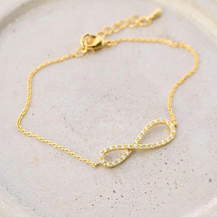 Infini Diamanté Gold Bracelet