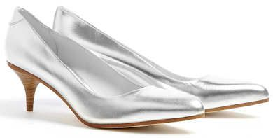 Acne Silver Court Shoes