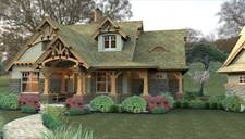 I love craftsman.: Houses, Floors Plans, Storybook House, Style, Rustic Home Exterior, Rustic Looks, Dreams House, Rustic Cottages, House Plans