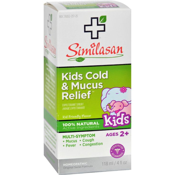 Similasan Kids Cold And Mucus Relief Cough Expectorant Syrup - 4 Fl Oz