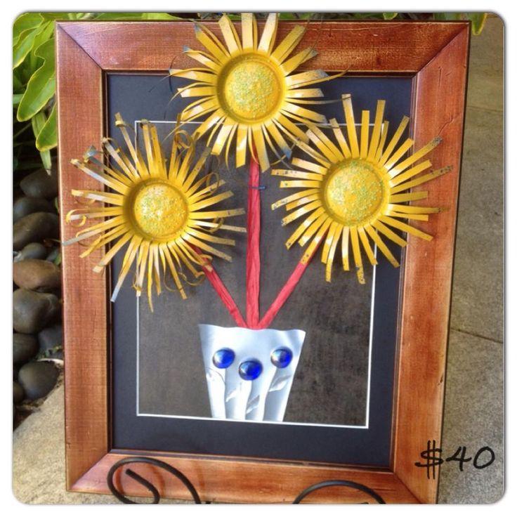 Soda can flower gift 1