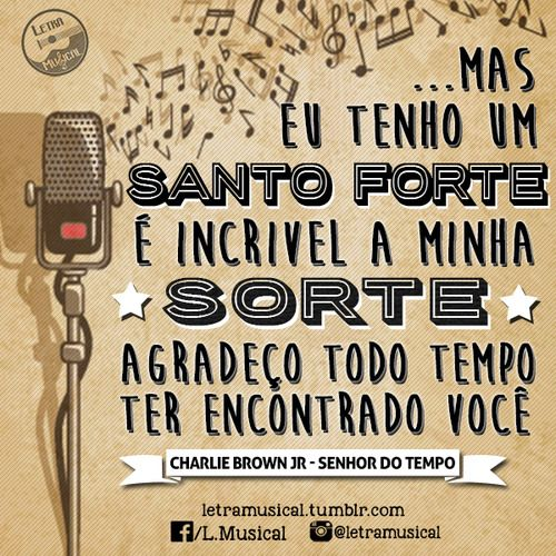 ♫ Senhor do Tempo ♫ - Charlie Brown Jr.