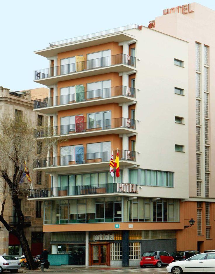 Park hotel 1953 barcelona by don antoni de moragas i for Hotel barcelone