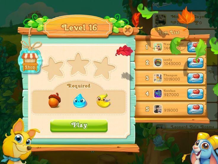 Level - Game ui