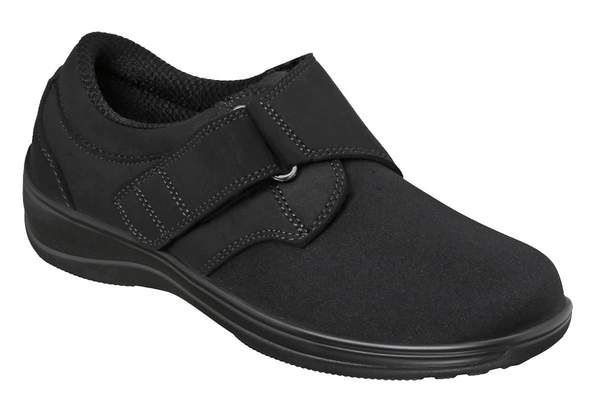 Wichita Black Stretchable Shoes