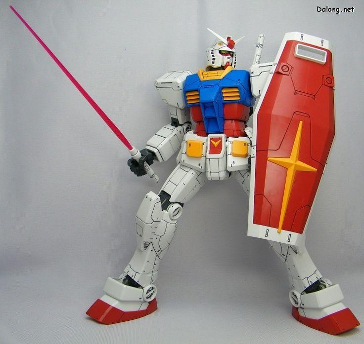 #Gundam RX-78 Mega Size