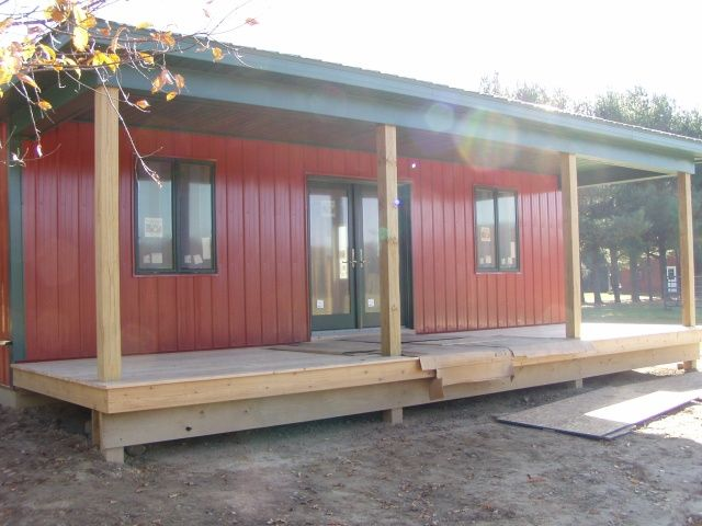 Barn Living Pole Quarter With Metal Buildings | ... Barn Remodel/addition  With