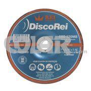Disco Desbaste - Rei - Disco de desbaste macio com ótimo nível de acabamento para pedras em geral. www.colar.com