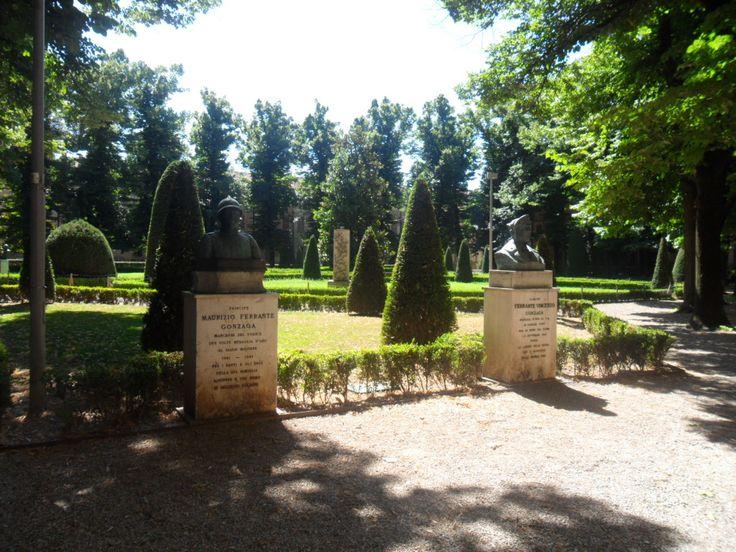 #Park of #Ducal #Palace #Mantova