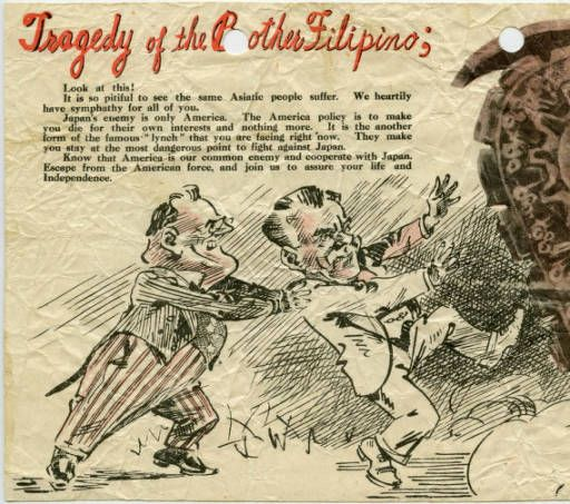 the imperialist propaganda in the philippines by the united states The philippine–american war (c1899–1913), which led to the colonial  subjugation of the philippines by the united states for over forty years.