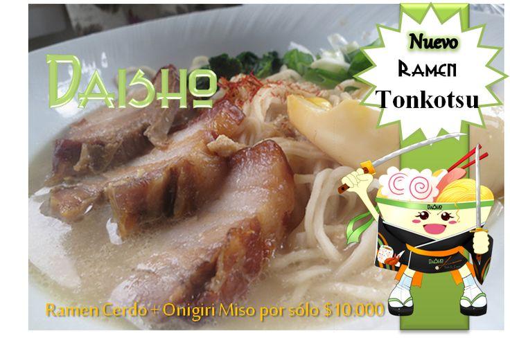 ATENCION #LocosDeRamen HOY #combo ramen tonkatsu + onigiri desde kas 5 pm y hasta las 9:00 pm