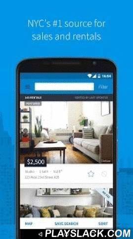 """StreetEasy - Apartments In NYC  Android App - playslack.com ,  Looking to buy, rent or sell an apartment in New York City? Get free and instant access to the largest database of real estate listings in Manhattan, Brooklyn, Queens and all of NYC's five boroughs on StreetEasy. Key features:• Search NYC apartments for rent and sale, including condos, co-ops and no fee.• Enter price, New York neighborhoods (""""Chelsea"""") and buildings (""""Trump Tower"""") to refine results.• Filter by building and…"""