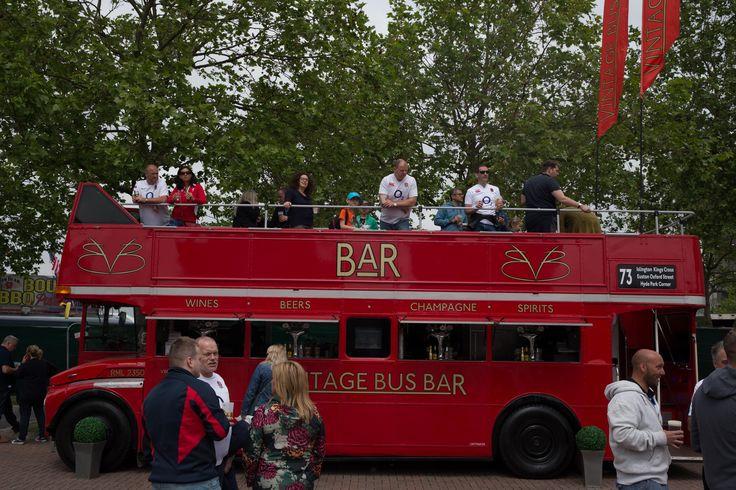 The Bus Bar available at Twickenham Stadium on Match Days