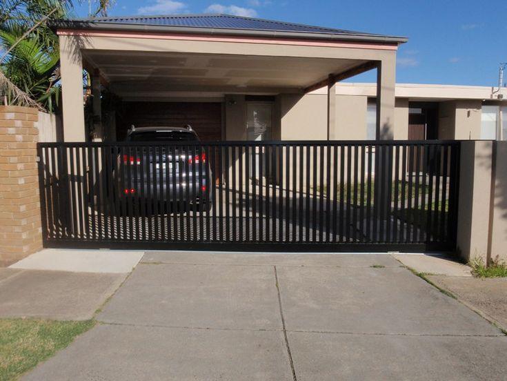 The 25+ best Sliding gate ideas on Pinterest | Sliding fence gate ...