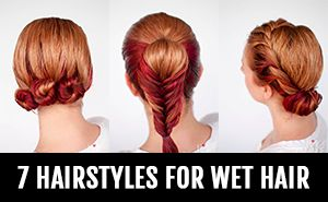 Running out the door with wet hair? Try these 3 simple braid tutorials you can wear in wet hair. As a bonus, you'll end up with gorgeous waves once your hair dries too. If you have to run out the door with wet hair, then these simple braids are a quick fix. Maybe you're late...Read More »