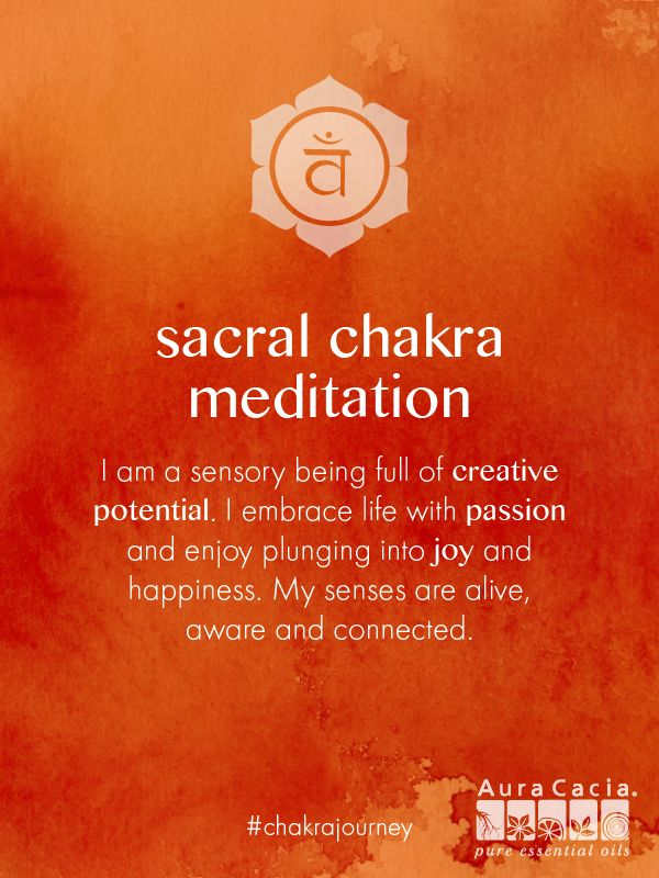Open your emotions and allow yourself to embrace your senses fully with this sacral chakra meditation. #chakrajourney