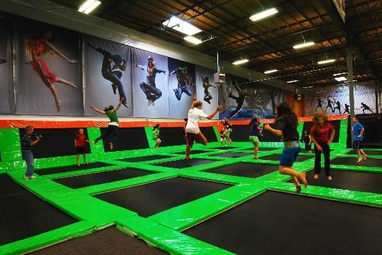 Elevated Sportz Indoor Trampoline Park