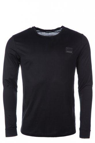 Antony Morato Long Sleeve T-Shirt Black | Designer Men's Basics | Intro Clothing