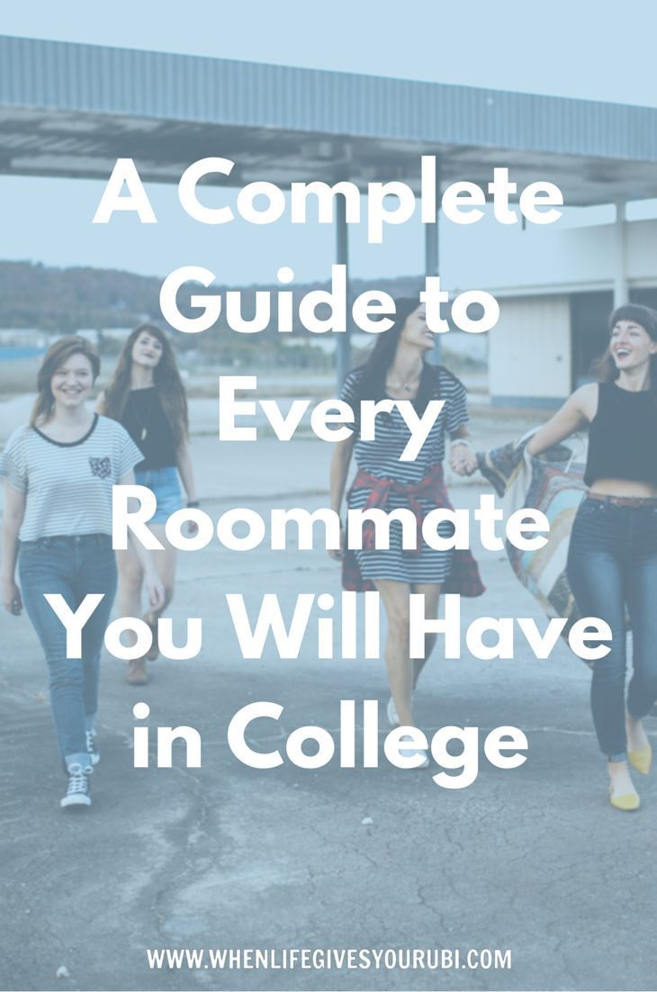 Nervous about living with a total stranger? Don't be! Here's a list of all the types of roommates you can anticipate having during your college years.