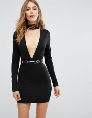 Majorelle Night Hawk Dress in Black ***wish I had the balls (and boobs) to wear this***