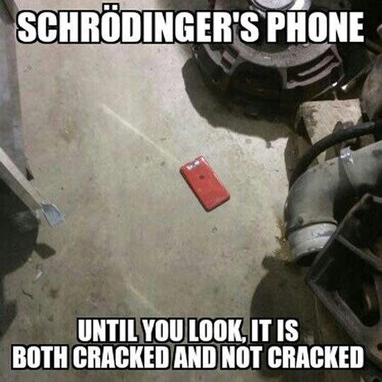 Nothing Scares Me More Than Schrödinger's Phone