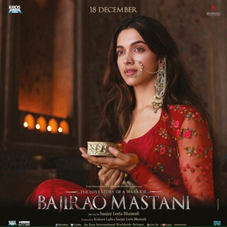 Deepika Padukone, the beautiful Mastani in 'Bajirao Mastani'