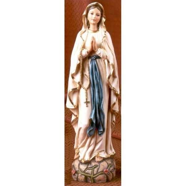 Statua Madonna di Lourdes in resina cm 30 - cod. 5174 A