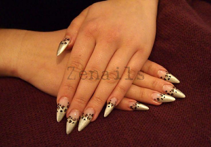 LCN stiletto nails | Kynsistudio Zenails
