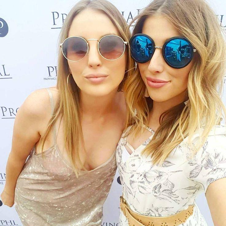 Round and polarised sunglasses