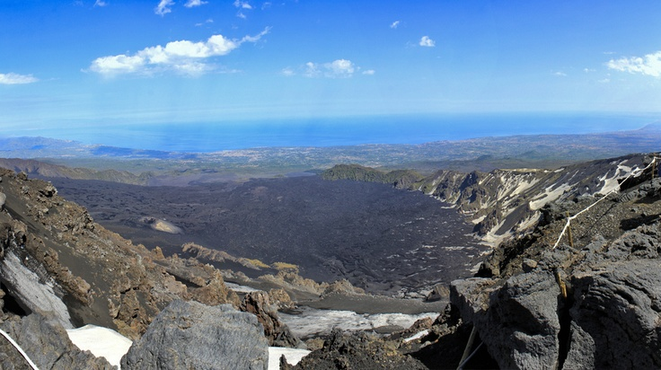 Valle Del Bove (Valley of the Ox) ,Etna