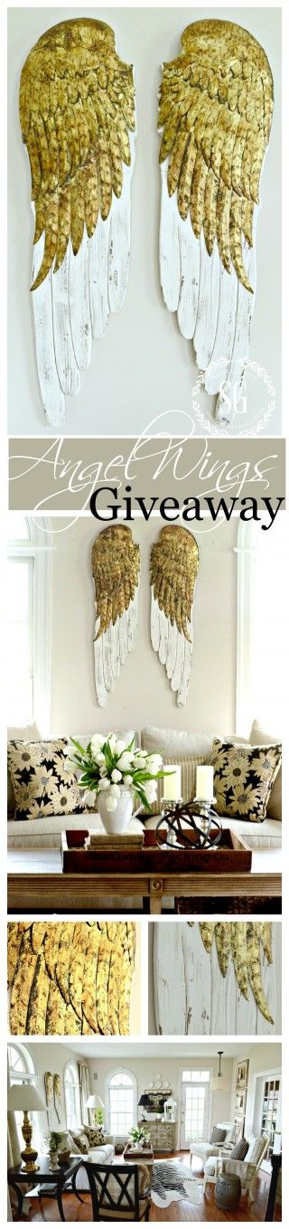 BEAUTIFUL ANGEL WINGS GIVEAWAY- These are amazing and we are giving one beautiful pair away!