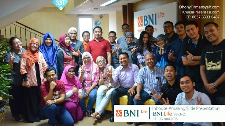 Inhouse Amazing Slide batch 2 BNI Life 11-13 Juni 2015