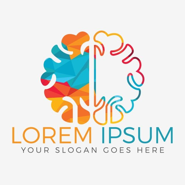 Brain Logo Vector Design Brainstorm Thinking Brain Logotype Icon Abstract Brain Brainstorm Png And Vector With Transparent Background For Free Download Yoga Logo Design Brain Logo Logo Design