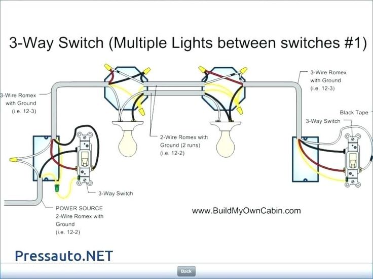 Wiring Diagram For 3 Way Light Switch  With Images