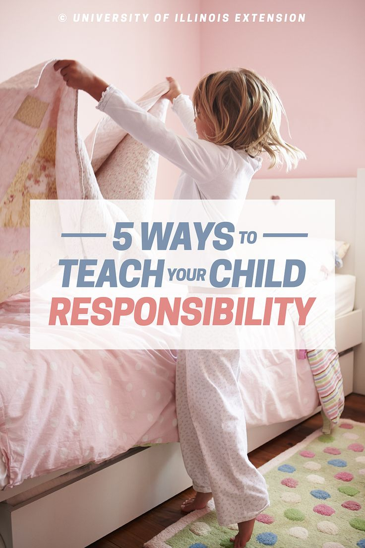 5 Ways to Teach your Child Responsibility #tips