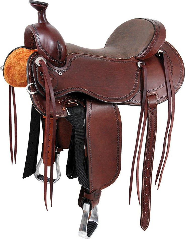 Outfitter Western Horse Saddle Chocolate - Item # 14924
