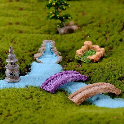Home Decoration Micro Landscape Resin Figures Vint…