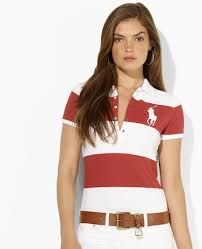 summer ralph luaren men's stripe polo!