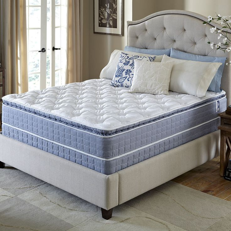 kingsize serta revival pillowtop fullsize mattress and foundation set full mattress set king size - King Size Pillow Top Mattress