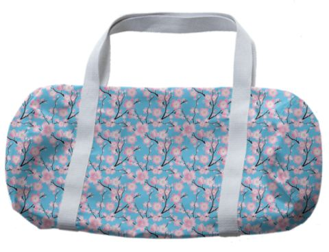 Cherry Blossoms Duffle Bag - Available Here: http://printallover.me/products/0000000p-cherry-blossoms-28