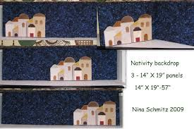 backdrop for nativity - Google Search