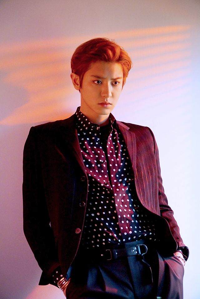 Chaneyol EXO for L'officiel Hommes