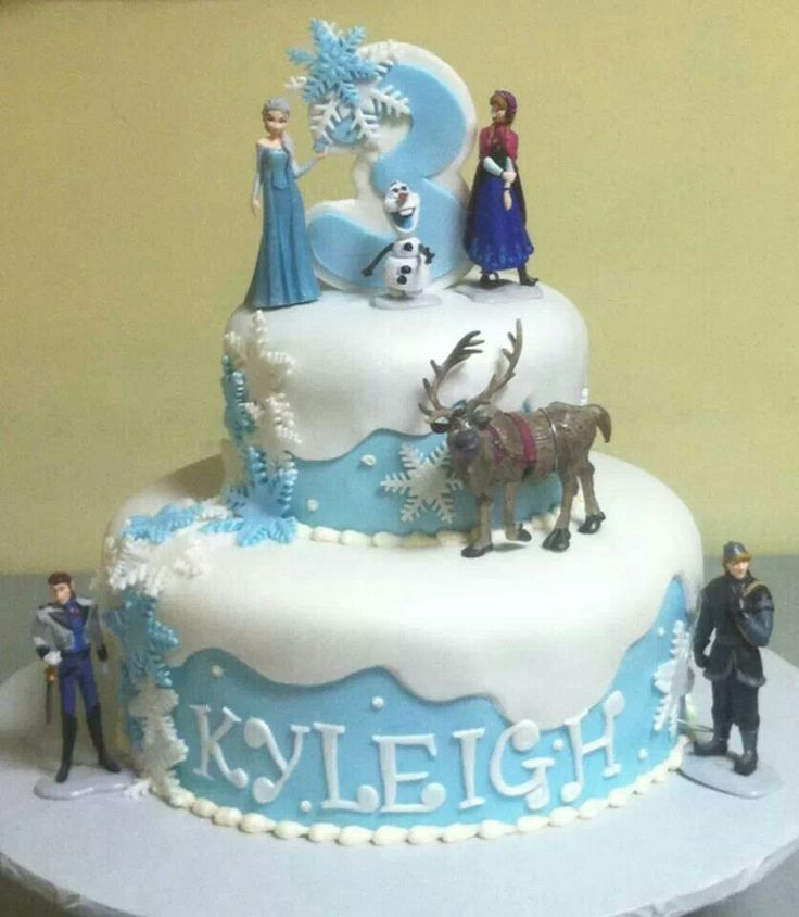 Birthday Cake Ideas Disney Frozen ~ Frozen cake pinterest birthday cakes and birthdays