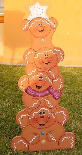 Love Gingerbread people