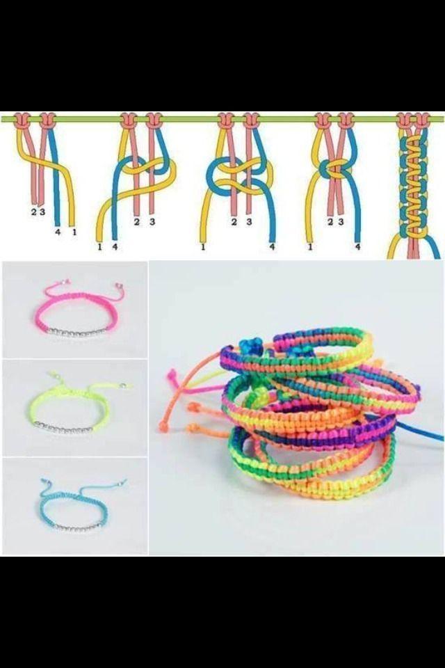 Schritt für Schritt Armband !! lovehandmade.net/ #handmade #craft #crafts zum V …