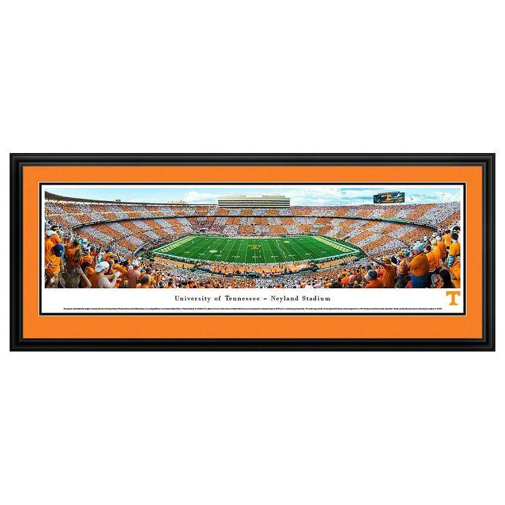 Tennessee Volunteers Football Stadium Framed Wall Art, Multicolor